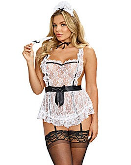 d44e461c9ee98 Dreamgirl Maid To Tease French Maid