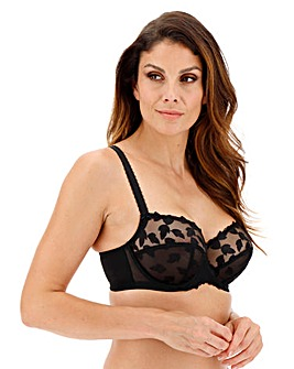 Panache Corrine Black Balcony Wired Bra
