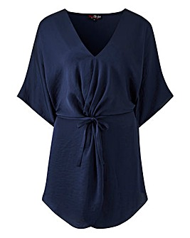 Lovedrobe Satin Twist Tunic