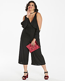 Slipped Sleeve Jumpsuit