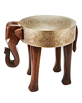 Elephant Acacia Side Table