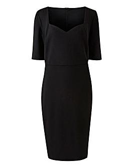 Black Shape and Sculpt Sweetheart Dress