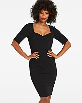 MAGISCULPT Black Sweetheart Dress