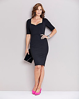 5a10812ffe7f Black Shape and Sculpt Sweetheart Dress