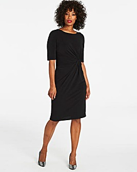 Black Twist Knot Dress