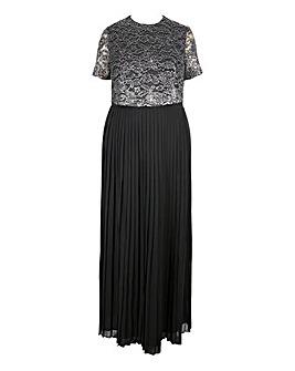 Lovedrobe Lace Overlay Maxi Dress