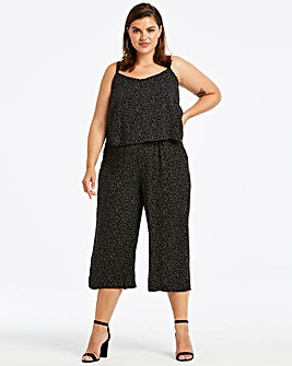 Layered Culotte Jumpsuit