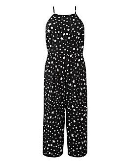 Tall Foil Star Print Jumpsuit