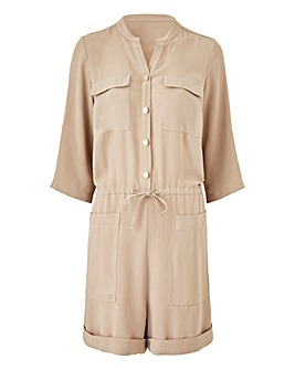 Drawstring Playsuit