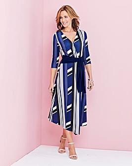 Wrap Asymetric Dress