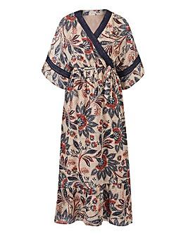 Petite Kaftan Maxi Dress