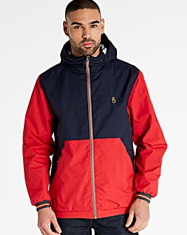 Luke Sport Navy/Red Dexter Jacket Long
