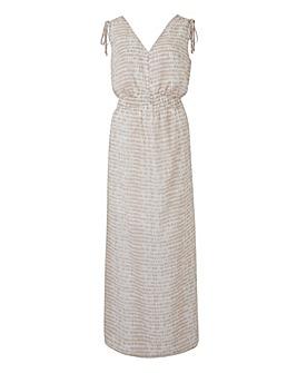 Petite Ruched Waist Dress