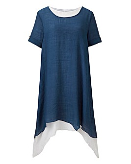 Apricot Double Layer Tunic