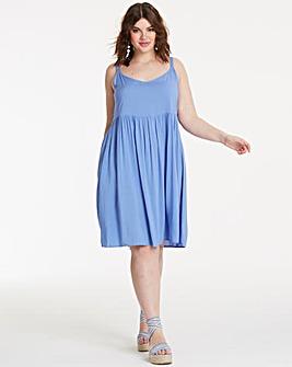 Plain Cami Smock Dress