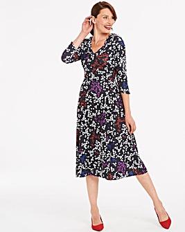 Jersey Midi Dress 45 Inches