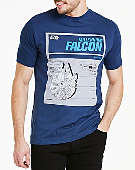 Star Wars Millennium Falcon T-Shirt Long