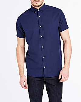 Jack & Jones Originals Cotton Linen Summer Short Sleeve Shirt