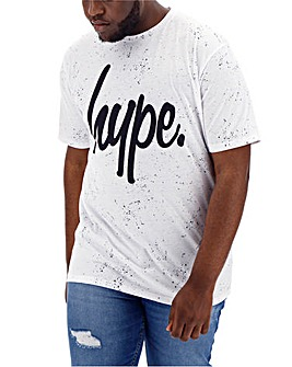 Hype Paint Splatter T-Shirt Long