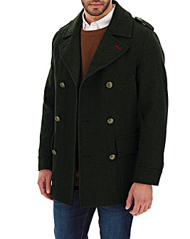 Joe Browns Wool Military Coat