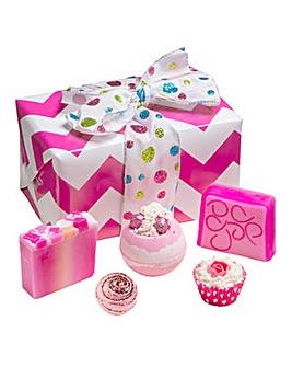 Bomb Cosmetics Glitter Bath Bomb Gift Set