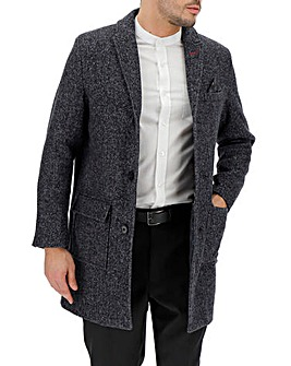 Joe Browns Herringbone Overcoat