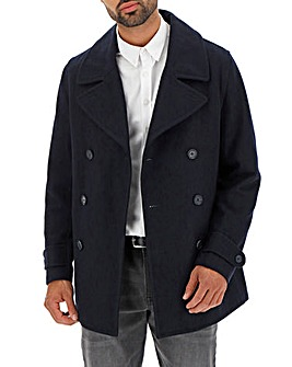 Peter Werth Navy Wool Peacoat