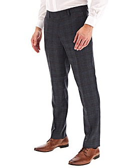 Original Penguin Checked Suit Trousers 31Inch Leg