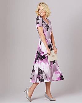 Julipa Stretch Jersey V-Neck Dress