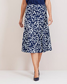 Julipa Pull On Panelled Skirt 32""