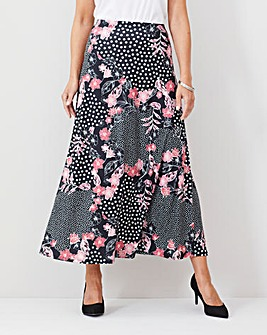 Julipa Pull On Maxi Skirt