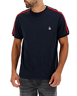 Original Penguin Contrast Panel Tee L