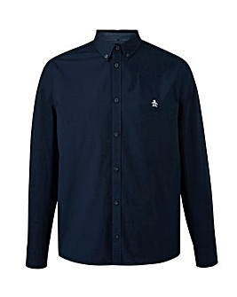 Original Penguin Plain Poplin Long Sleeve Button Down Shirt