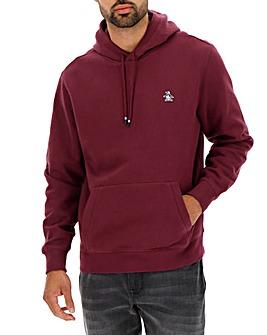 Original Penguin Chest Logo Fleece Hoody