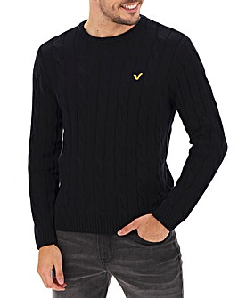 Voi Cable Knit Jumper