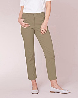 Julipa Stretch Cotton Twill Trouser