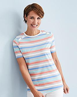 Julipa Leisure Stripe T Shirt