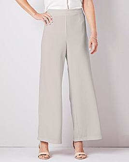 Julipa Wide Leg Crepe Trouser