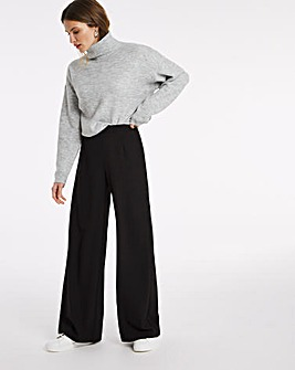 Julipa Wide Leg Crepe Trouser