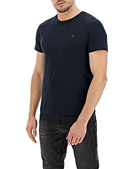 Timberland Dunstan Navy Slim Crew T-Shirt