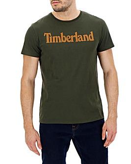 Timberland Kennebec Linear Logo T-Shirt