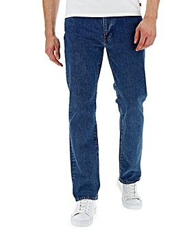 Levi's 514 Straight Fit Stonewash Jean