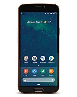 Doro 8080 Black/Copper Smart Phone
