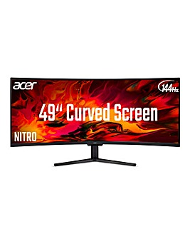 Acer Nitro EI491CRP 49in Curved Quantum Dot 120z Gaming Monitor