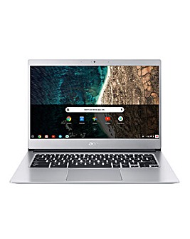 Acer Chromebook 514 Intel Pentium 14in Touchscreen 4GB 128GB - Silver