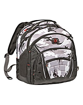 "Wenger Synergy 16"" Computer Backpack - Arctic Camo"