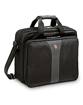 "Wenger Legacy 17"" Triple Notebook Case"
