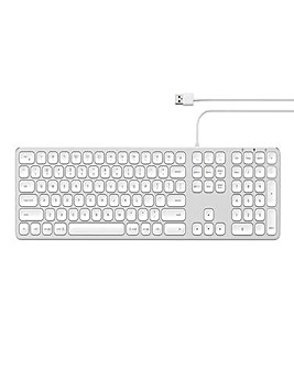 Satechi Aluminium Wired Keyboard for Mac