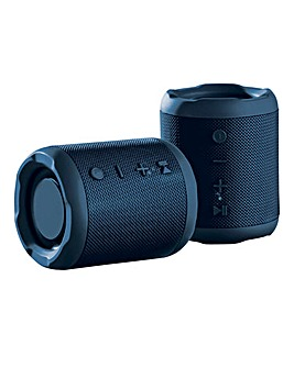 Daewoo Bluetooth True Wireless Speaker - Blue Fabric