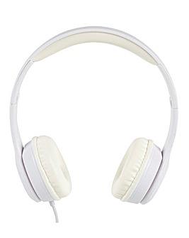 Intempo Clarity White Headphones